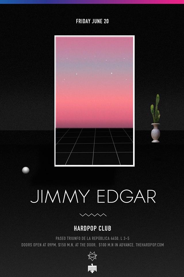 Jimmy edgar at Hardpop